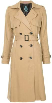 GUILD PRIME double breasted trench coat