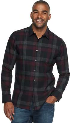 Marc Anthony Men's Slim-Fit Soft Touch Flannel Button-Down Shirt