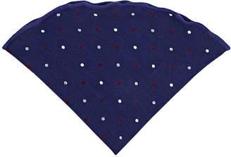 Alexander Olch Men's Polka Dot Wool Pocket Round