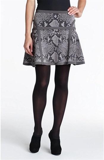 Diane von Furstenberg 'Flote' Print A-Line Skirt