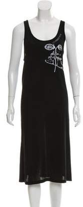 Maison Margiela Embroidered Sleeveless Dress w/ Tags