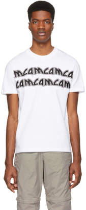 McQ White Metal Repeat Logo T-Shirt
