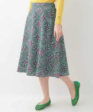 Jocomomola (ホコモモラ) - Jocomomola フラワーデザイン モチーフスカート