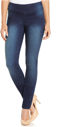 Style & Co. Curvy-Fit Rinse Wash Jeggings, Only at Macy's $49 thestylecure.com