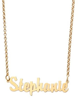 Women's Argento Vivo Personalized Script Name Necklace $128 thestylecure.com