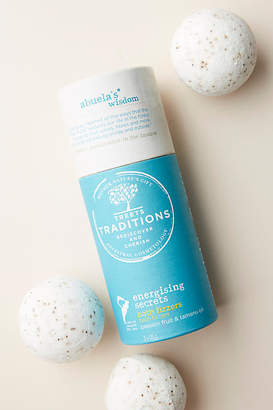 Treets Traditions Energizing Secrets Bath Fizzers