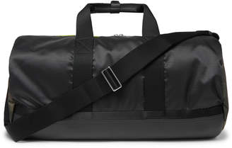 Paul Smith Leather-Trimmed Ripstop Holdall - Men - Black