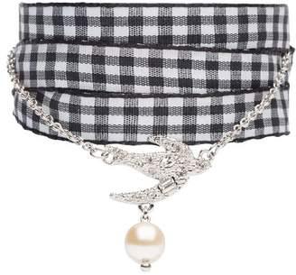 Miu Miu ribbon pendant bracelet