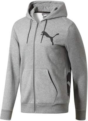 Puma Men's Logo Full-Zip Hoodie