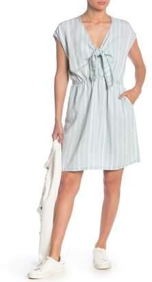 Velvet Heart Ariade Stripe Front Tie Dress