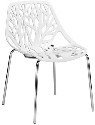 Poly and Bark Birds Nest Dining Side Chair , Multiple colors