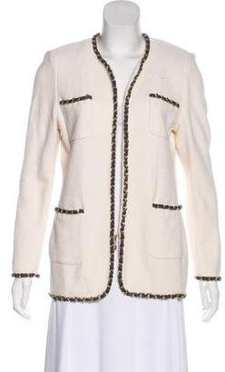 Couture St. John Textured Chainlink Jacket