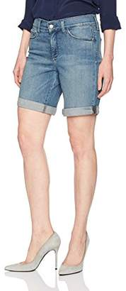 NYDJ Women's Jessica Boyfriend Short in Premium Lightweight Denim