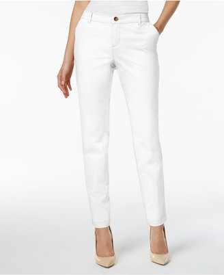 Style & Co Cuffed Slim-Leg Pants, Only at Macy's $19.98 thestylecure.com
