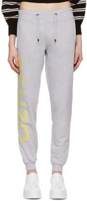 Kenzo Grey Logo Sport Jog Lounge Pants