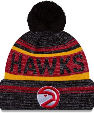 New Era Atlanta Hawks Hardwood Classics Snow Dayz Knit Hat