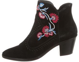 Rebecca MinkoffRebecca Minkoff Embroidered Ankle Boots