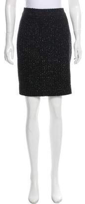 Armani Collezioni Metallic Tweed Skirt