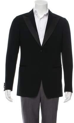 Armani Collezioni Peak-Lapel Two-Button Tuxedo Jacket