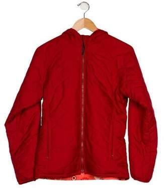 Patagonia Girls' Hooded Reversible Coat