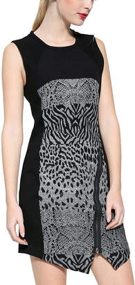 Desigual Animal Print Sleeveless Dress