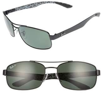 Ray-Ban 62mm Polarized Sunglasses