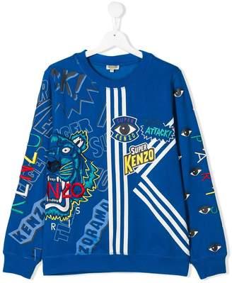 Kenzo Kids TEEN Super sweatshirt