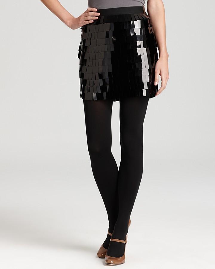 DKNY Pailette Sequin Skirt