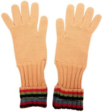 Missoni Pink Wool Gloves