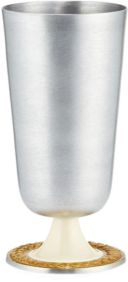 Marigold Artisans Braid Aluminum Vase