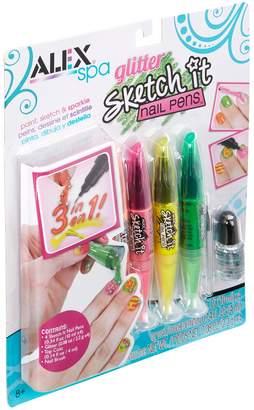 Alex TOYS R) Toys 'Glitter Sketch It' Nail Pens (Set of 4)