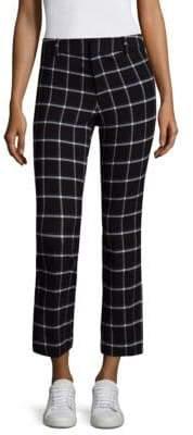 Derek Lam Patterned Cropped Pants