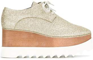 Stella McCartney glitter Eylse platform shoes