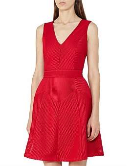 Reiss Topaz-Textured Jersey Fit