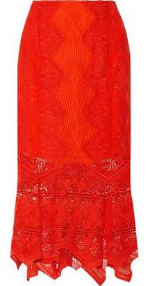 Jonathan Simkhai Guipure Lace Midi Skirt