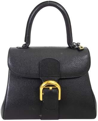 Delvaux Le Brillant Black Leather Handbags