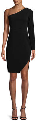 BCBGeneration One-Shoulder Sheath Dress