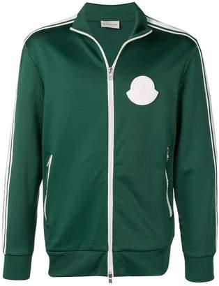 Moncler logo-patch jersey sweatshirt