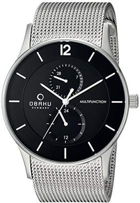 Obaku Men's Quartz Stainless Steel Dress Watch