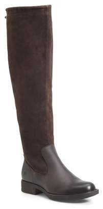 Børn Laguna Leather & Suede Riding Boot