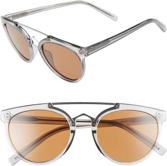 CLYDE BONNIE Rose 53mm Retro Sunglasses