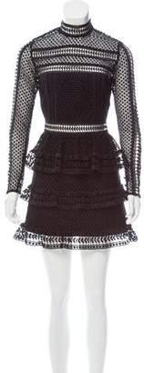 Self-Portrait Star Lace Dress