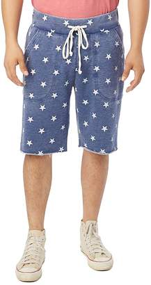 Alternative Victory Star-Print Sweat Shorts