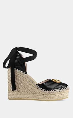 6f047d06b45c Gucci Women s Leather Platform-Wedge Espadrilles - Black