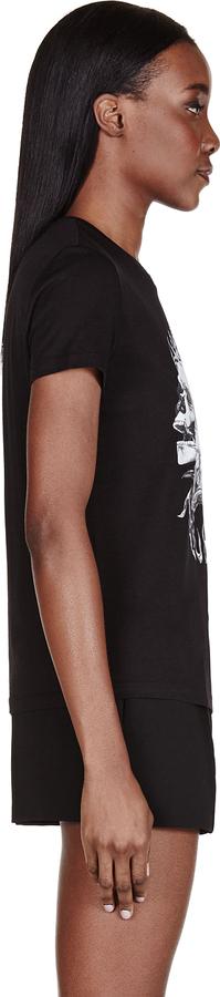 Alexander McQueen Black Rock Skull T-Shirt