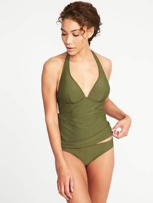 Old Navy Wrap-Halter Tankini Top for Women