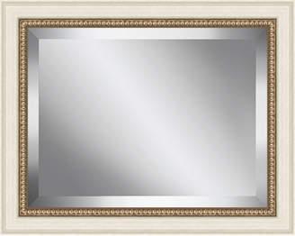 Ashton Wall Dcor LLC Antique Bead Framed Beveled Plate Glass Mirror