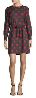 Marella Vespa Polka Dot A-Line Dress