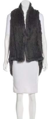 LaROK Rabbit Fur Vest