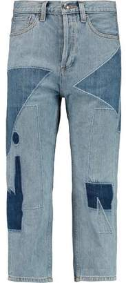 Marc by Marc Jacobs Big Cropped Patchwork Jeans